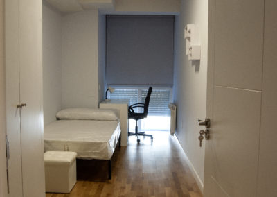 Habitación estudiante. Iluminación