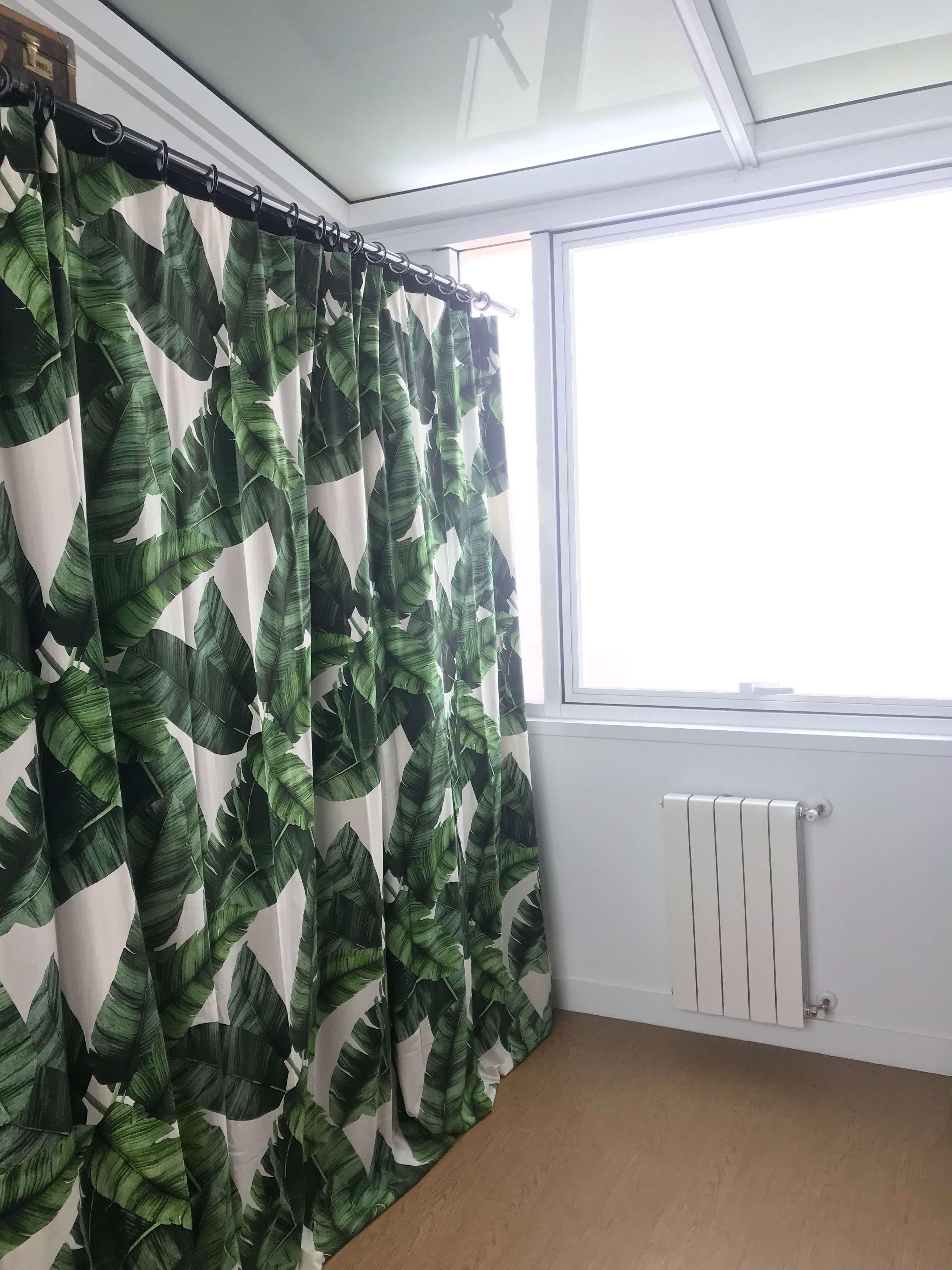 Terraza acristalada-vestidor
