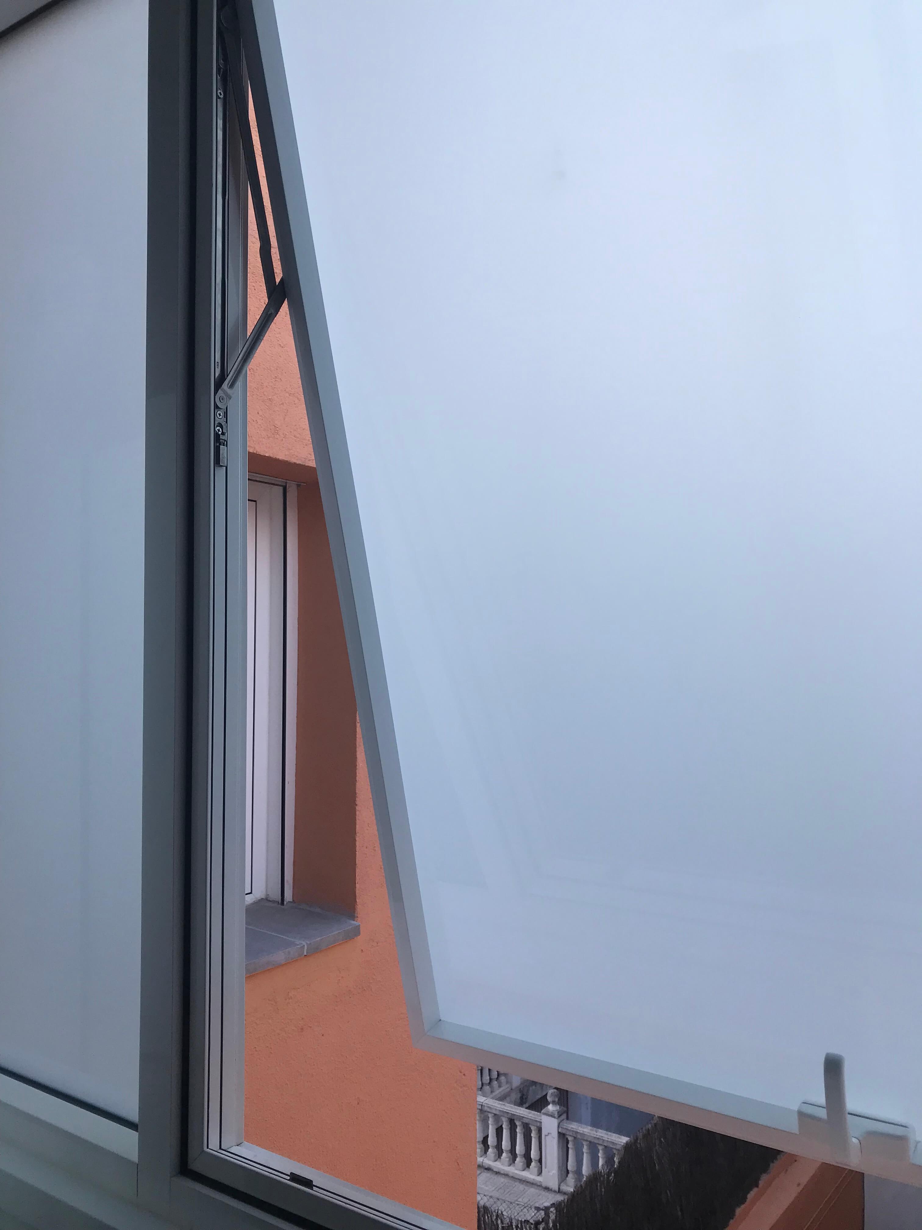 Ventana oscilobatiente-Terraza acristalada-vestidor